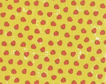 Garden Project - Strawberries in Pear by Tim & Beck for Moda Fabrics