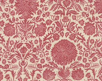 Joyeux Noel - Couronne in Pearl Faded Red by French General for Moda Fabrics