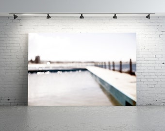 Swimming Pool Photography, Sydney Swimming Pool, Pool Photography, Collaroy Pool, Still Water, White, Still Life, Ocean Pool, Pool
