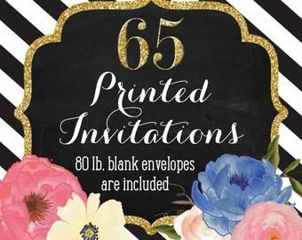 Invitation Printing - Set of 65 - 5x7