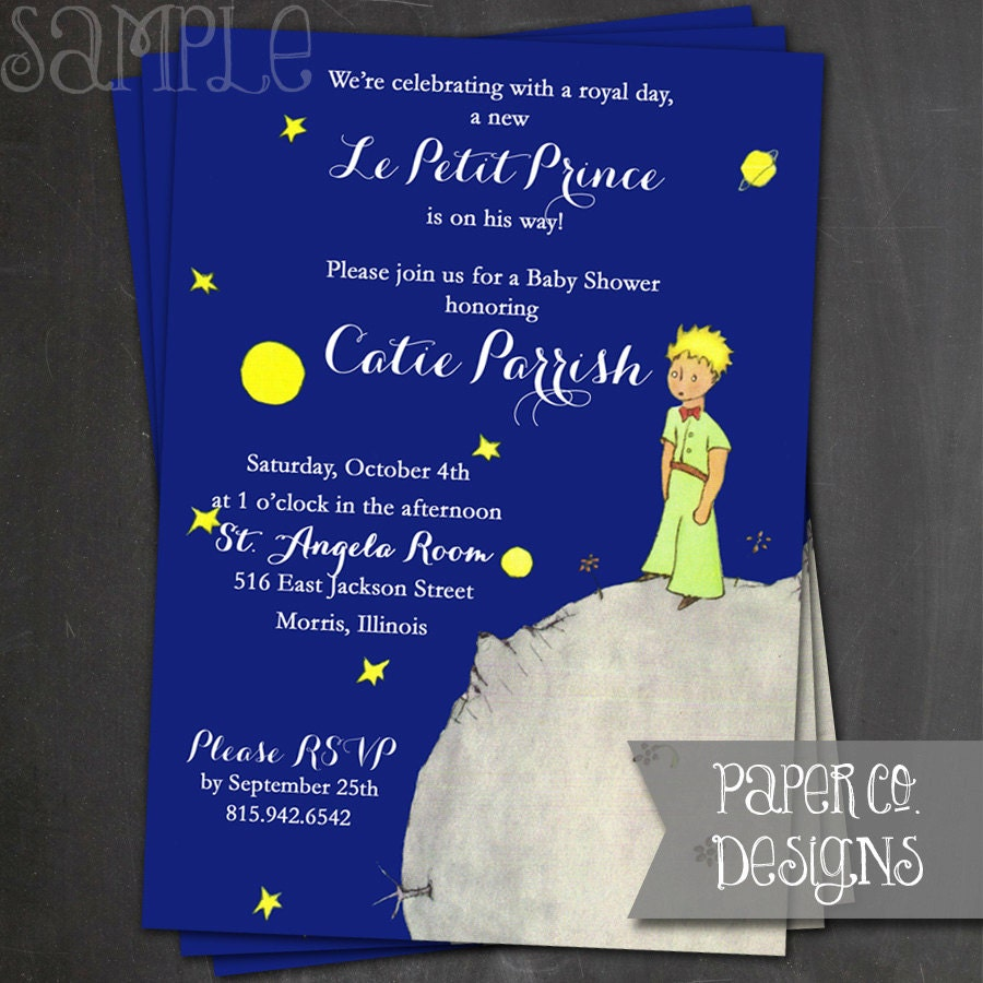 printable le petit prince the little prince by papercodesigns