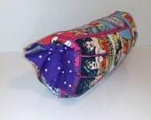Infant Car Seat ARM PAD, Handle Cover Wrap, Reversible -  Wonder Woman