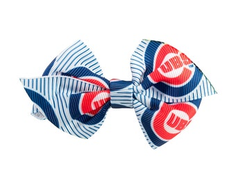 Chicago Cubs Dog + Cat Bowtie