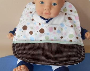 Multi Polka Dots Baby Bib