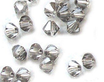 Satin Crystal Beads Swarovski Bicones 4mm (24)