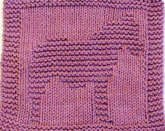 Knitting Cloth Pattern - MY LITTLE PONY
