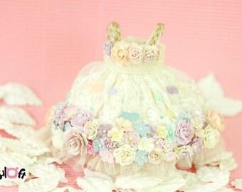 Blythe Sugar Rush flowers Dress