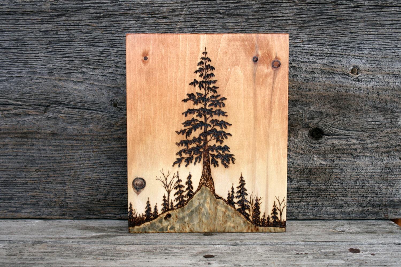 Wood Burning Art Tree Images