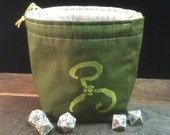 Cthulhu Yellow Sign Dice Bag