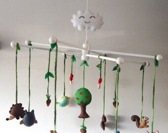 Woodland Nursery Mobile Made To Order