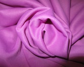 OLD FASHiONED ViNTAGE DOUBLE KNiT ORCHiD FABRiC 1970's Polyester Knit