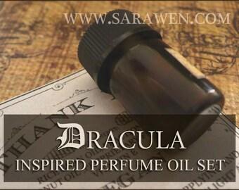 DRACULA inspired Perfume Oil Samples / 2ml perfume / Vegan perfume / Gothic Perfume