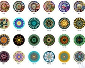 ALL NEW Design Glass Cabochon 12mm 20mm 25mm 30mm( 25mm Flat )Handmade Photo Glass Cabochon -Image Glass Cabochon-(HPP-G)  Part 14