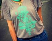 Moroccan Geometric Hamsa Shirt