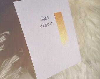 Goals. Find your master stroke. Typewriter love. Original art by dabblelicious