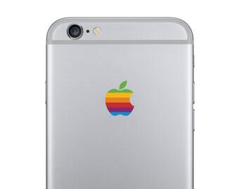 Apple iPhone 6 Retro Logo Decal
