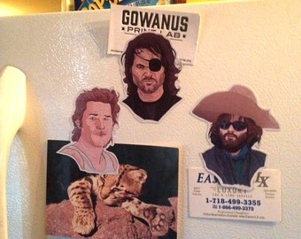 3 Kurt Russell Fridge Magnets