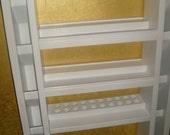 32x17in Nail Polish and Cosmetic Wall Organizer 88 plus ct