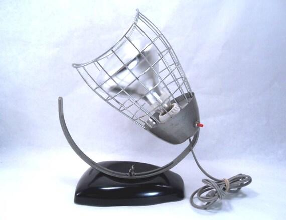 Wall Heat Lamps : Viking Heat Lamp Desk/Wall Atomic Modern Style by martasrose