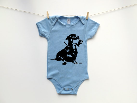 Weiner Dog Baby Clothes