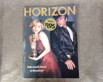 HORIZON MAGAZINE, March 1978, vintage, published in USA