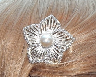 Bridal hair comb,Bridal hair piece,bridal headpiece,wedding hair comb,wedding hair piece wedding headpiece,Rhinestone and pearlhair comb