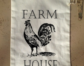 Veggie Bag, Reusable Vegetable Bag, Farmers Market Bag, Food Bag, Drawstring Produce Bag