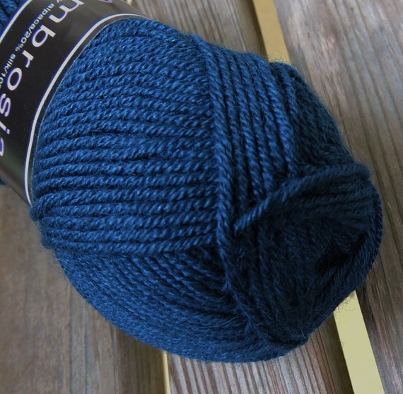 Knitting Patterns For Sport Weight Yarn : SPORT Weight Yarn French Blue 688 Knit One Crochet Too