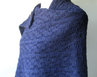 Hand Knit Shawl / Wrap - PDF Pattern