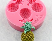 Pineapple Mold Silicone Mould Resin, polymer clay, fondant, chocolate (353)