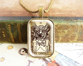 The Lovers - Tarot Necklace