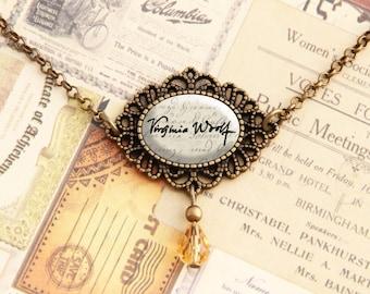 Virginia Woolf - Signature Necklace