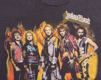 JUDAS PRIEST 1986 tour T SHIRT