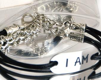 Personalized inspirational bracelet