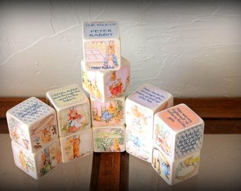 Peter Rabbit Blocks - The Tale of Peter Rabbit Complete Story