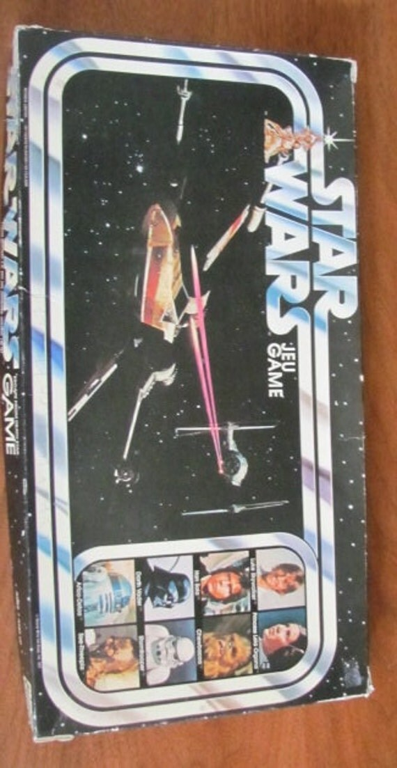 Vintage Star Wars Board Game 1977 Movie by FrenchToastKitty