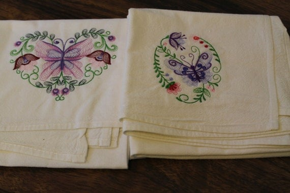 machine embroidery designs for kitchen towels items similar to floursack kitchen towels machine 9717