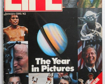 1980 LIFE Magazine — Special Issue — The Year In Pictures