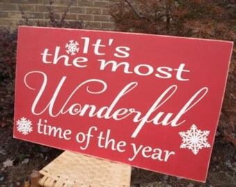 Christmas Sign Believe Shabby Chic Christmas Country
