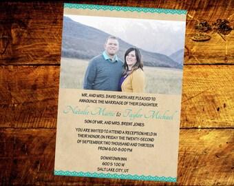 modern wedding invitations, wedding invitations, wedding invites, unique wedding invitations, printable wedding invitations