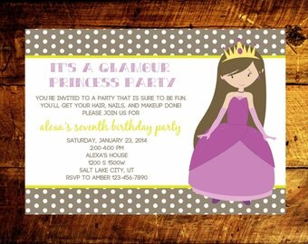 girl birthday invitations, 1st birthday invitations, birthday party invitations, kids birthday invitations, birthday invites
