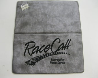Nascar Dale Earnhardt RARE Set #3 Race Call PROMO Cards & Demo Collectible Phone Card Set Mom 'n' Pop's RCR in Race Call Racing Card Case