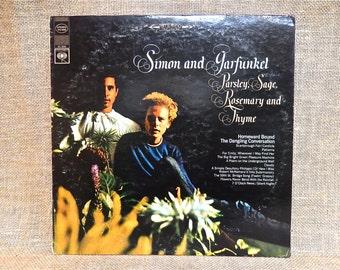 Simon & Garfunkel - Parsley, age, Rosemary and Thyme - 1968 Vintage Vinyl Record Albums