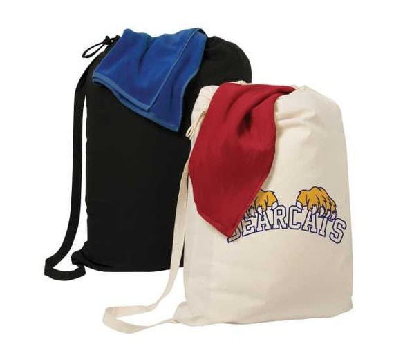 Extra Large 100 Canvas Drawstring Laundry Bag Great For