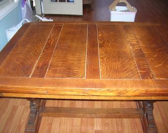 Antique English Pub Table