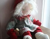 Waldorf Winter Doll, a DemiLunes Dolls OOAK