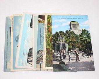11 Vintage Memphis Tennessee Used Postcards