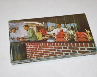 25 Vintage San Francisco California Chrome Postcards Blank - Wedding Guestbook