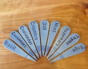 Ceramic Garden Tags- Herbs