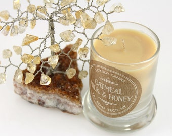 Soy Candle, Glass Container, 2 OZ 100% Natural Soy